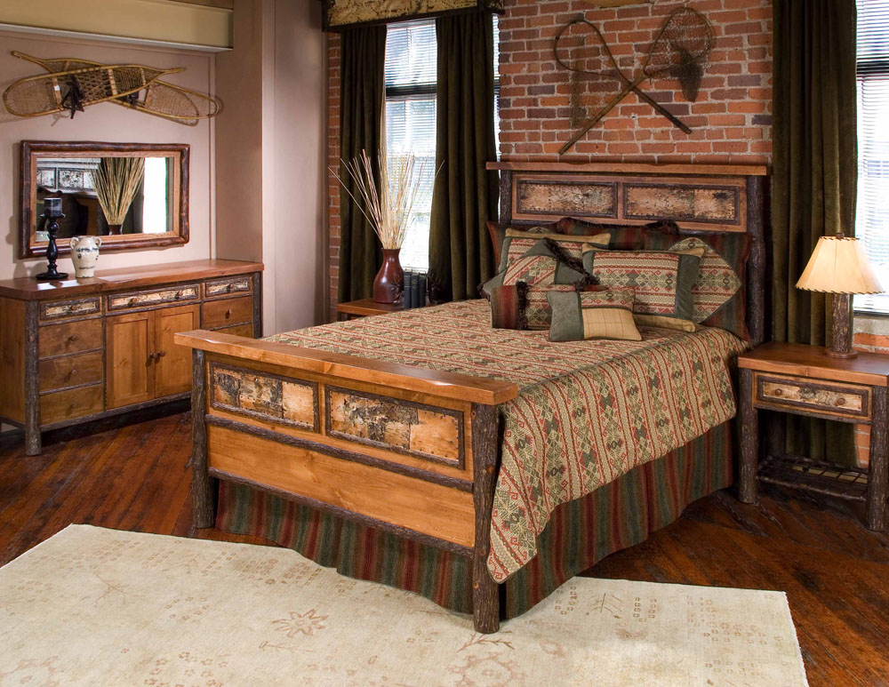 Old hickory tahoe furniture company for Hickory chair bedroom furniture