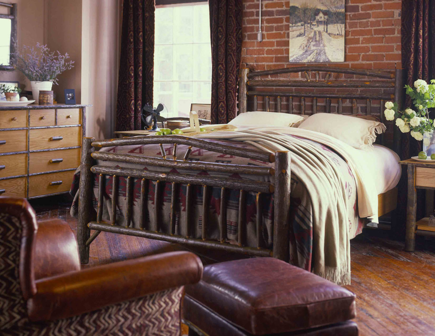Old Hickory Tahoe Furniture Company -  hickory bedroom furniture