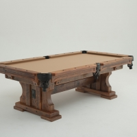 101-7-101-8-OR-101-9-TIMBERFRAME-TRESTLE-POOL-TABLE-1