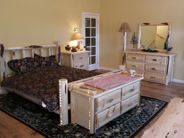 lodgepole pine bedroom furniture