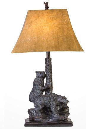 bear table lamp
