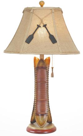 canoe lamp