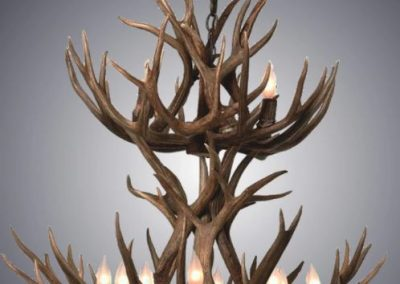 double tier chandelier