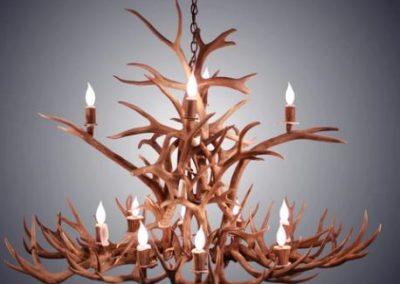 chandeliertwo tier stone chandelier
