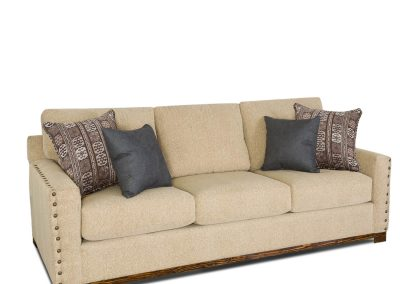 Sofa Couch will Pillows
