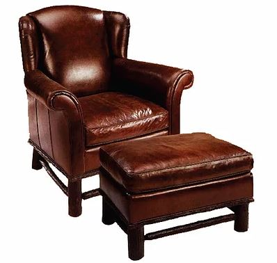lodge chair & ottoman