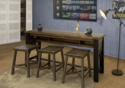 loft bron table & chairs
