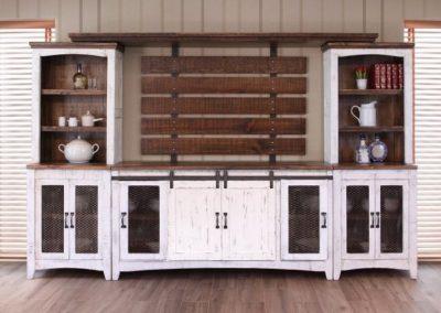 pueblo white hutch TV Stand