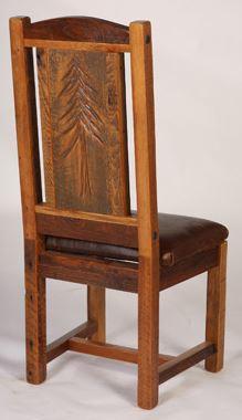 sequoia back kitchen chair
