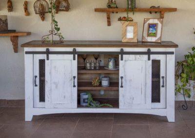 furniture white barn doors